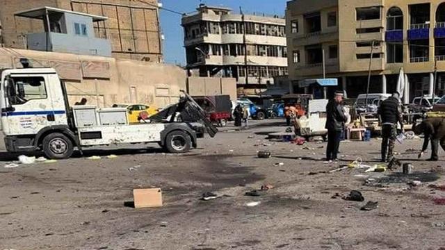 Bom nổ liên hoàn ở Baghdad, hơn 30 người mất mạng