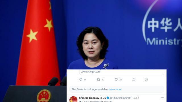 """Bắc Kinh phản ứng vụ Twitter khóa tài khoản ĐSQ Trung Quốc tại Mỹ: Chúng tôi là """"nạn nhân"""""""