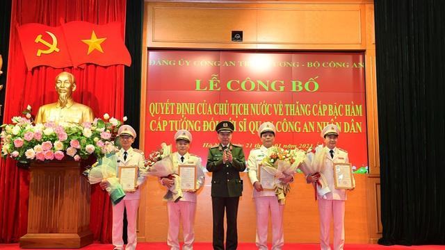 Thứ trưởng Bộ Công an Nguyễn Duy Ngọc được thăng hàm Trung tướng