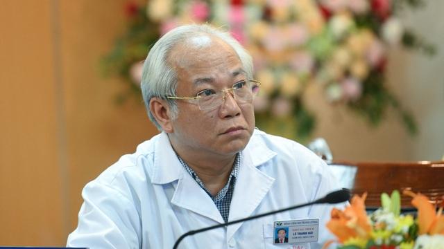 Giám đốc Bệnh viện Nhi Trung ương Lê Thanh Hải đột tử tại phòng làm việc