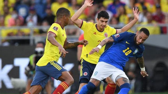 Brazil bị Colombia cầm hòa tại vòng loại World Cup trong ngày Neymar im tiếng
