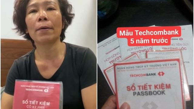 """Nghi ngờ sổ tiết kiệm của mẹ Hồ Văn Cường, dân mạng lại vào fanpage Techcombank hỏi: """"Cho mình xem mẫu sổ năm 2016"""""""