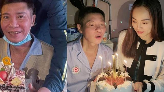 Vợ kém tuổi của NS Công Lý hé lộ tình trạng hiện tại của chồng sau gần 3 tháng nhập viện
