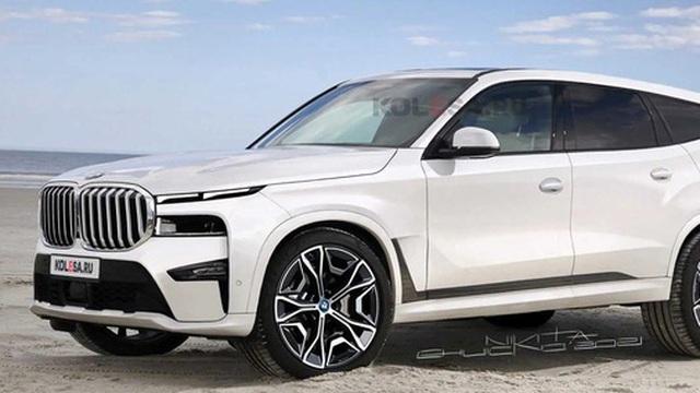 BMW X8 lại khiến dân tình ''chao đảo'' khi lộ diện trên đường: To như Rolls-Royce Cullinan, mặt trước có điểm giống Hyundai Santa Fe