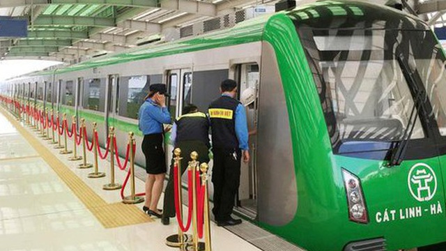 Bộ Tài chính ứng tiền trả nợ vay cho dự án đường sắt Cát Linh – Hà Đông