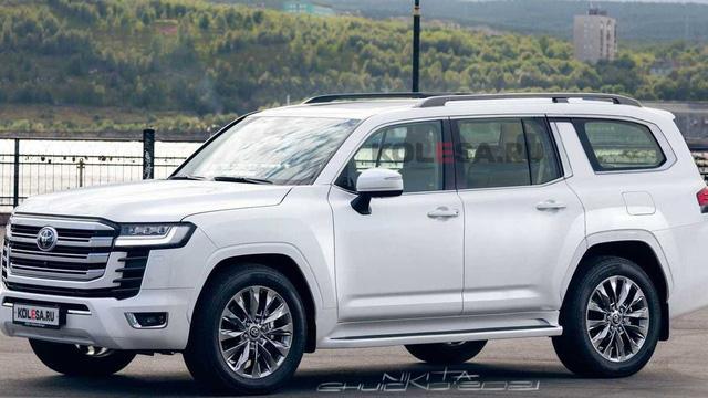 Toyota Land Cruiser 2022 bản kéo dài trông sang hay kỳ cục, hình ảnh này sẽ nói lên tất cả