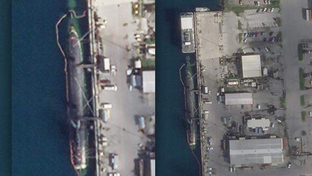 Hình ảnh đầu tiên về tàu ngầm Mỹ sau vụ va chạm bí ẩn ở Biển Đông
