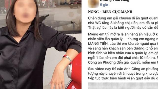 SỐC: Gái xinh Hà Nội quỵt tiền ăn còn tự tiện 'phóng uế' trước cửa tiệm, dân mạng liền so sánh với 'hot girl Bella' nổi tiếng?