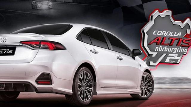Xe nào rồi cũng thành xe đua: Toyota ra mắt Corolla Altis phiên bản Nurburgring, ngoại hình hầm hố nhưng sức mạnh không đổi