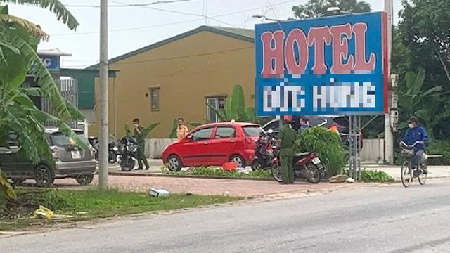 Sau tiếng nổ lớn trước khách sạn, nhiều ô tô dính đạn, có người bị thương