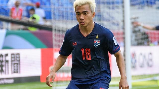 Chanathip sẽ cùng ĐT Thái Lan tham dự AFF Cup 2020