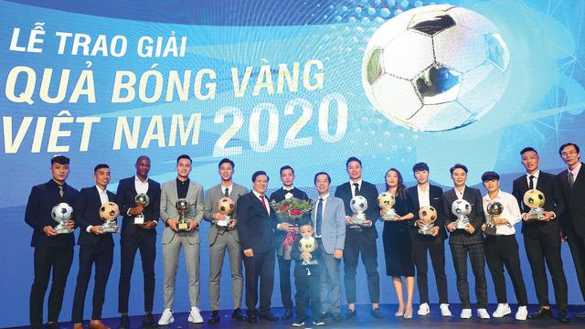 Giải thưởng Quả bóng vàng Việt Nam: Bản lĩnh vàng và những hồi ức đẹp