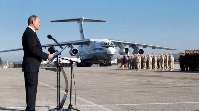 Xoay chuyển cán cân ở Syria, Nga đưa máy bay có trang bị vũ khí hạt nhân vào cuộc?