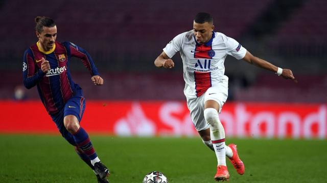 Barca thua tan nát PSG, Griezmann thừa nhận sự thật phũ phàng