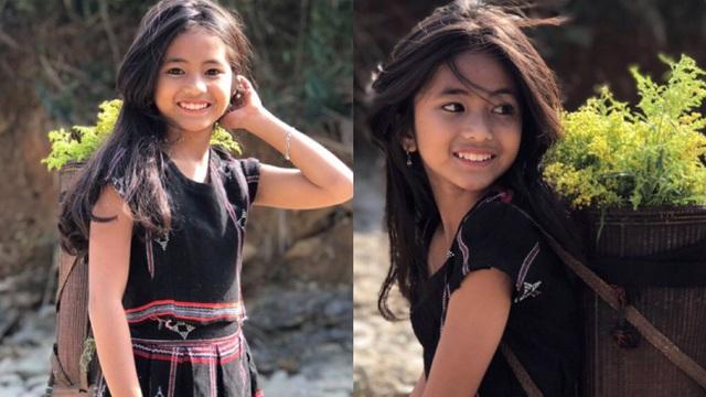 Cô bé người Pa Kô bất ngờ nổi tiếng trên MXH nhờ sở hữu vẻ đẹp trong trẻo tựa thiên thần