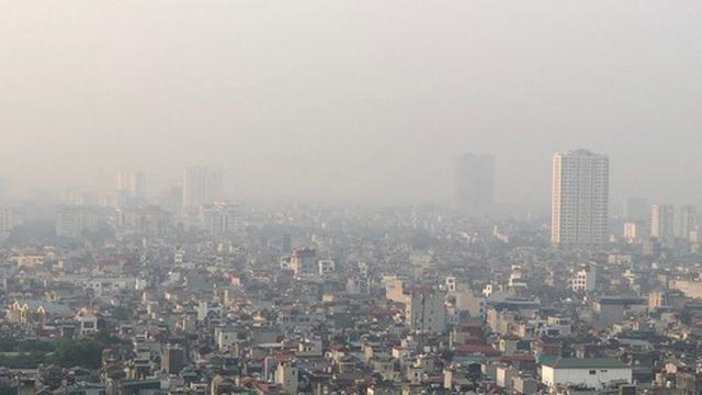 """Xuất hiện nhiều điểm """"đen"""" về chất lượng không khí ở Bắc Bộ"""