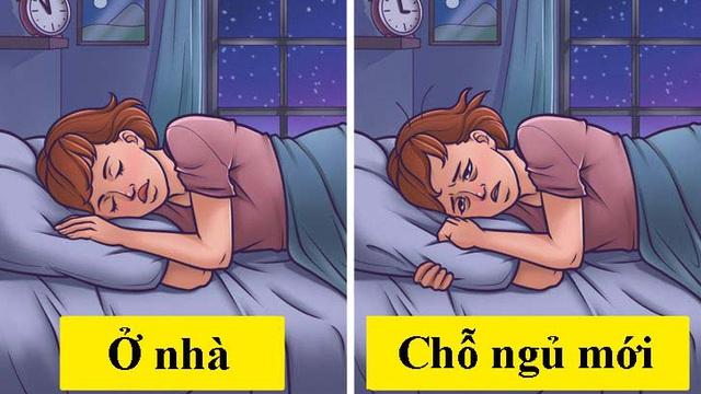Khoa học giải thích vì sao chúng ta thường trằn trọc, khó ngủ trong đêm đầu tiên đến chỗ mới