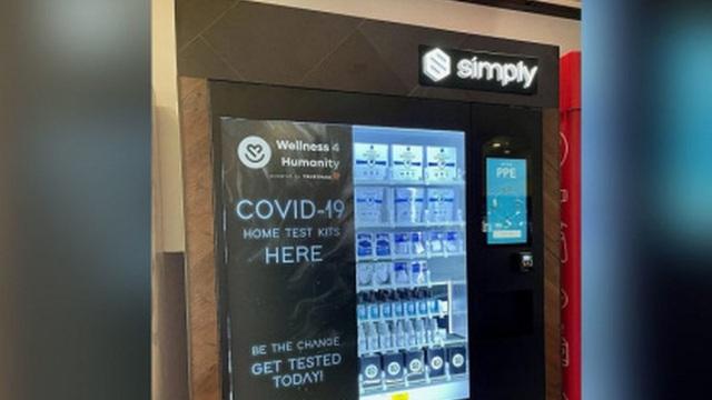 Người dân Mỹ có thể mua bộ xét nghiệm Covid-19 qua máy bán hàng tự động