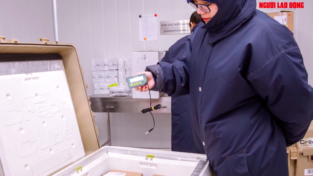 Bên trong kho lạnh -86 độ c chứa lô vaccine Covid-19 đầu tiên ở Việt Nam