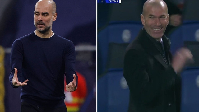 """Pep Guardiola cho đối thủ nếm mùi """"bất lực""""; Zidane cười sảng khoái với siêu phẩm ít ai ngờ"""