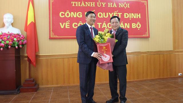 Công bố quyết định của Thành ủy Hà Nội về công tác cán bộ