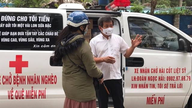 Ông Đoàn Ngọc Hải: 'Tôi sẵn sàng làm bồi bàn, bảo vệ mở cửa khách sạn kiếm tiền giúp người nghèo'