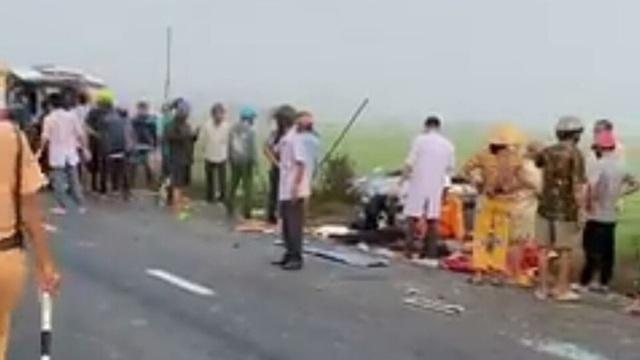 Tai nạn nghiêm trọng ở Bạc Liêu: 1 người tử vong, 7 người bị thương