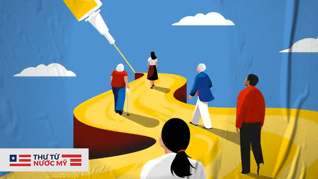 Thư từ nước Mỹ: Hành trình đau khổ chờ tiêm vắc xin Covid - Những trải nghiệm bây giờ mới kể