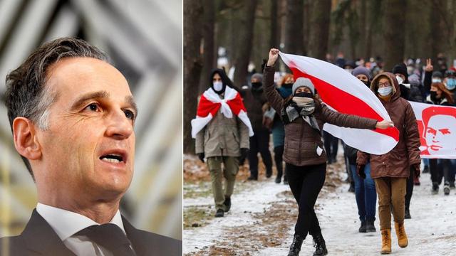 """Đức không giấu giếm ý định hỗ trợ phe đối lập Belarus, công bố """"kế hoạch hành động"""" 21 triệu Euro"""