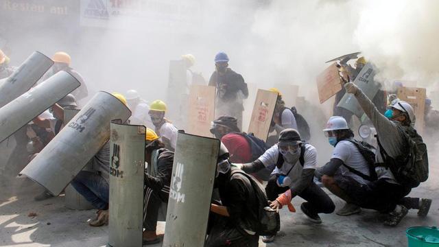 """Ngoại trưởng Mỹ gọi vụ sát hại người biểu tình Myanmar là hành động """"bạo lực ghê tởm"""""""