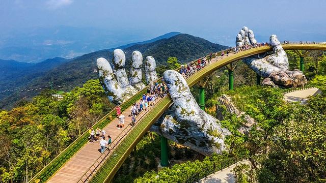 """Cầu Vàng ở Đà Nẵng được báo Anh xếp trong danh sách """"kỳ quan thế giới mới"""""""