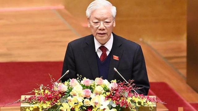 Chủ tịch nước Nguyễn Phú Trọng: Luôn phấn đấu gương mẫu, giản dị, khẳng định vị thế của người lãnh đạo cao nhất của Đảng