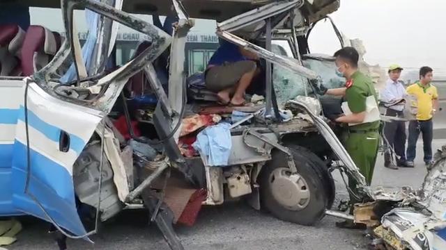 Bắt tài xế xe khách chở 22 người đi lễ gây tai nạn khiến 3 người tử vong