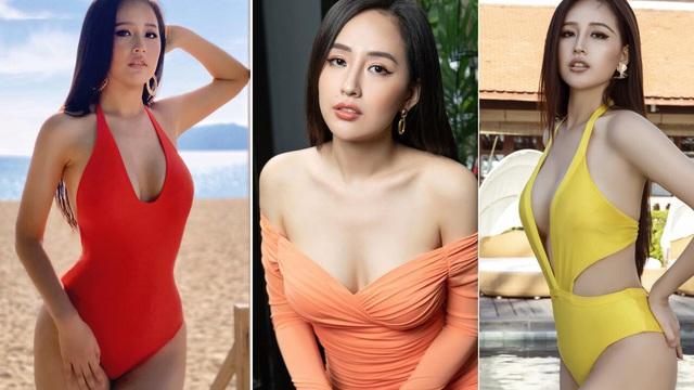 """Vóc dáng """"đồng hồ cát"""" nóng """"bỏng mắt"""" của Hoa hậu Mai Phương Thúy ở tuổi 33"""