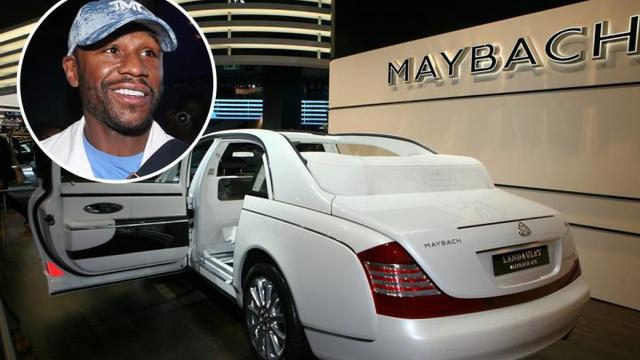 """""""Độc cô cầu bại"""" Floyd Mayweather bước vào màn đọ tiền cùng """"một rapper nổi tiếng"""" để tranh chiếc siêu xe cực hiếm"""