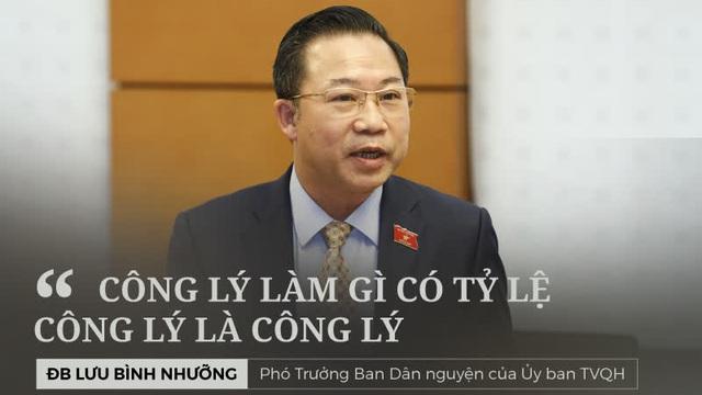 """Tranh luận """"nảy lửa"""" của ĐB Lưu Bình Nhưỡng và tướng công an Nguyễn Thanh Hồng về tỷ lệ oan sai"""