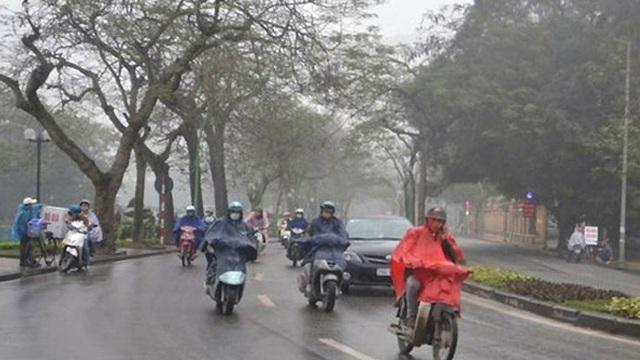 Bắc Bộ, Bắc Trung Bộ mưa lạnh