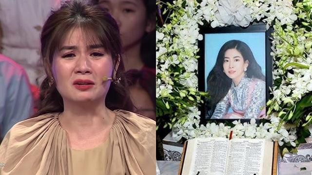 """Kha Ly bật khóc: """"Mai Phương không có một đám tang trọn vẹn, xót xa lắm"""""""