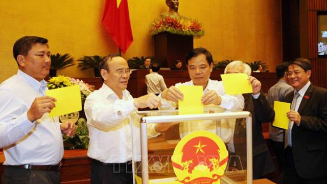 Quy trình bầu Chủ tịch nước