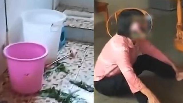 Để cháu chơi 1 mình trong nhà vệ sinh, bà khóc ngất khi đứa trẻ chết ngạt trong thùng trữ nước