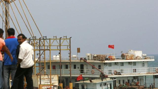 """Tàu chở vật liệu hạt nhân cho Trung Quốc bị Sri Lanka """"đuổi cổ"""" vì một hành vi trái pháp luật"""