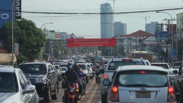 Lào phong tỏa thủ đô Vientiane với 18 biện pháp chặn COVID-19
