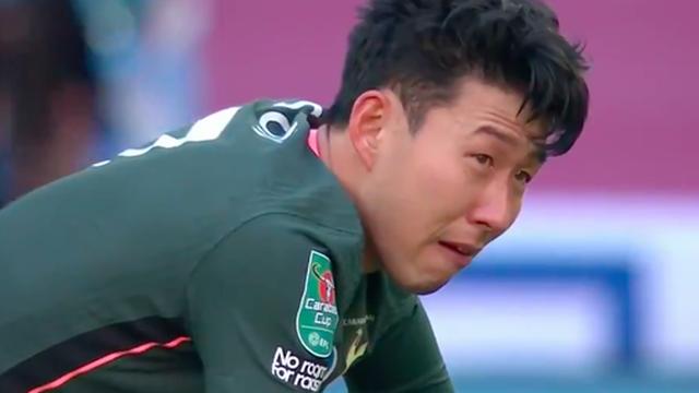Son Heung-min khóc nức nở sau thất bại ở chung kết Cúp Liên đoàn Anh