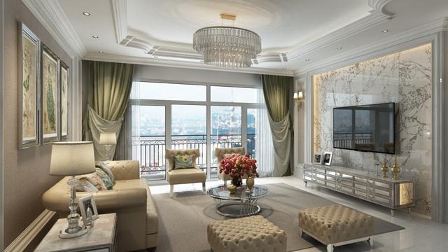 Có gì trong căn hộ đắt bậc nhất Hà Nội, giá đền bù đất 1 tỷ/m2, chào bán 570 triệu đồng/m2?