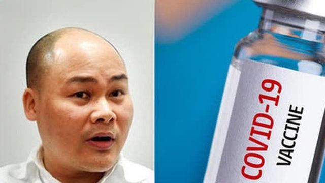 BS Nguyễn Huy Hoàng phản bác CEO BKAV Nguyễn Tử Quảng: 'Chế tạo vaccine giống phần mềm diệt virus là quan điểm phản khoa học'