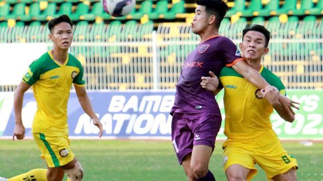 Đội bóng có SVĐ lớn nhất Việt Nam gục ngã trên sân nhà