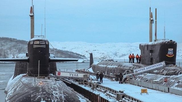 Bật mí về hạm đội tàu ngầm hạt nhân chiến lược của Nga