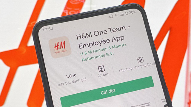 Ứng dụng H&M nhận bão 1 sao từ cộng đồng mạng Việt Nam