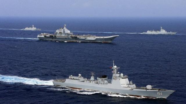 Vì sao nhóm tàu sân bay Trung Quốc đi qua biển Hoa Đông xong, chiến hạm Nhật mới xuất hiện?