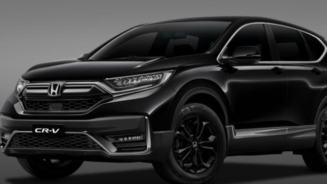 Honda CR-V thêm bản 'bóng đêm' tại Việt Nam, giá cao hơn các bản khác